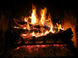 How to start a fireplace fire in your home